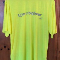Men- Fluro Yellow Short Sleeve