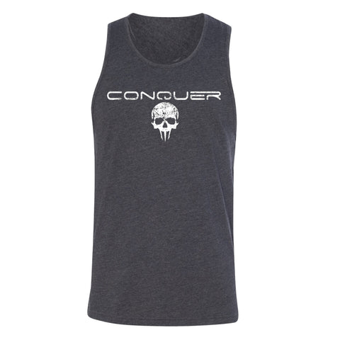 Conquer Tank - Charcoal