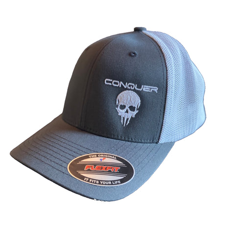 Conquer Trucker Hat - Charcoal Grey