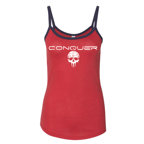 Conquer Women's Ringer Tank