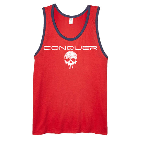Conquer Men's Ringer Tank