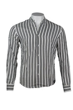 KB I SHIRT│BLACK STRIPES
