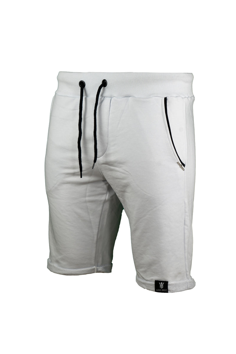KB I SHORTS│WHITE