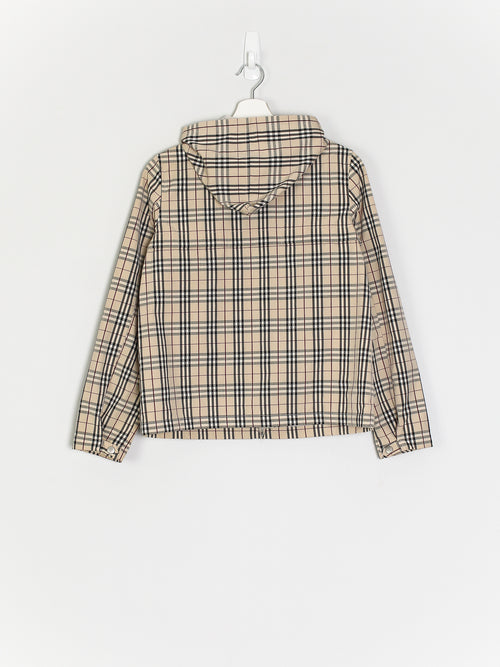 Womens Burberry Nova Check Jacket (S)