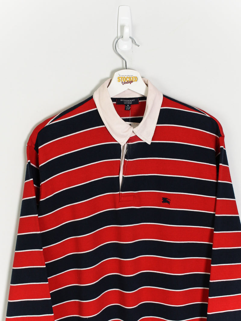 Burberry Rugby Shirt (M)