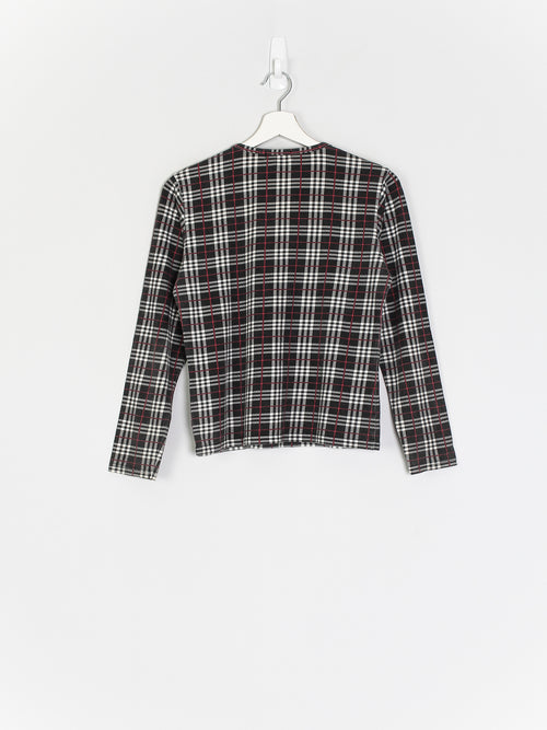 Womens Burberry Longsleeve Top (M)