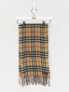 Burberry Nova Check Lambswool Scarf