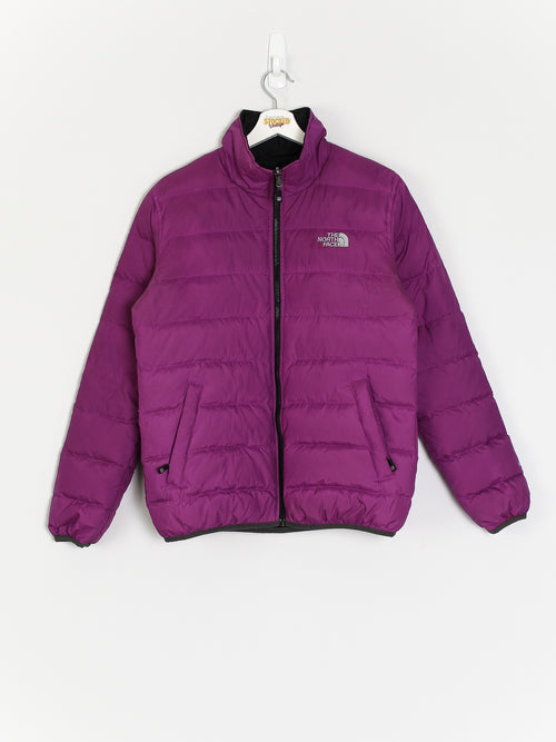 Womens The North Face Reversible 550 Fill Puffer Jacket (M)