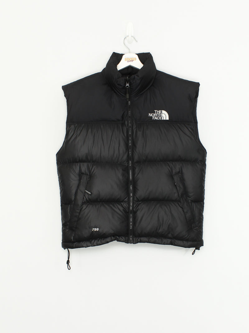 Vintage The North Face 700 Fill Nuptse Gilet Puffer Jacket Size S