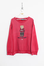 Ralph Lauren Polo Bear Sweatshirt (L)