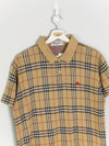 Burberry Nova Check Polo Shirt (S)