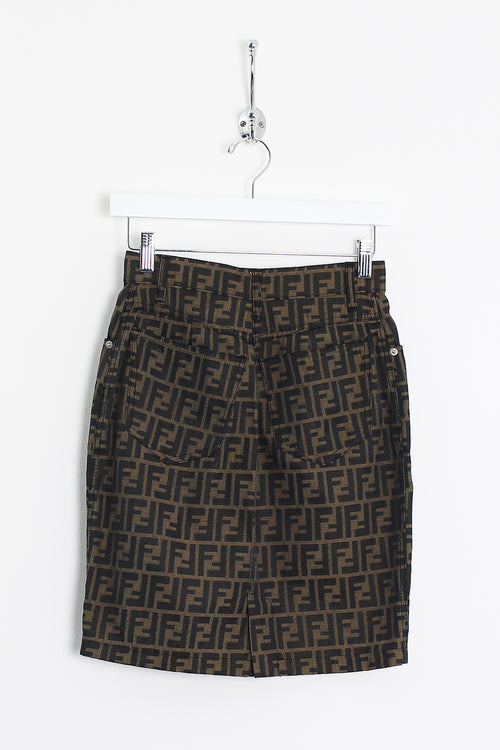 Womens Fendi Monogram Skirt (XS)