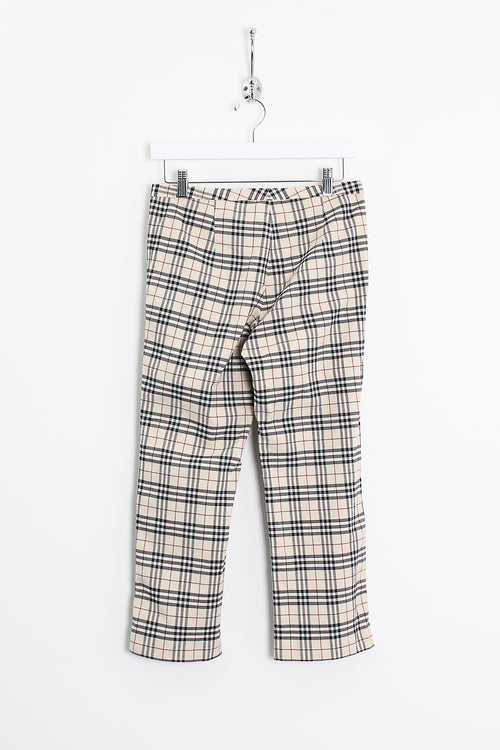 Womens Burberry Cropped Trousers (S)