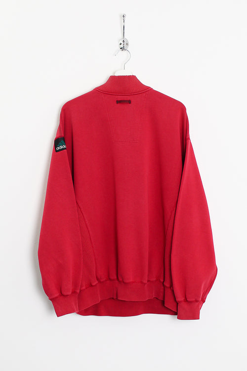 Adidas Equipment 1/4 Zip Sweatshirt (XL)