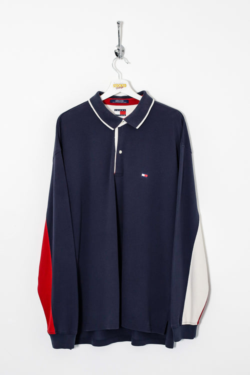 Tommy Hilfiger Long Sleeve Polo Shirt (XL)