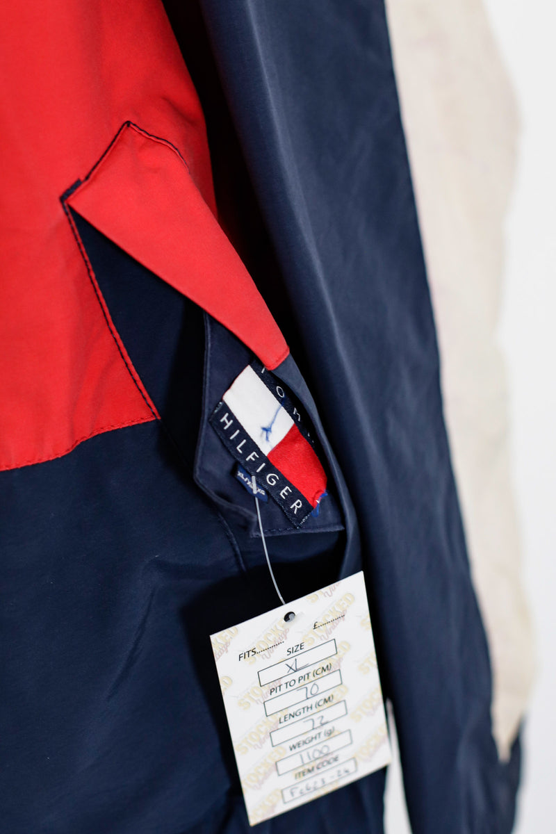 90s Tommy Hilfiger Reversible Flag Jacket (XL)