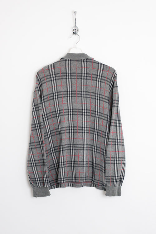 Burberry Nova Check Polo Shirt (L)