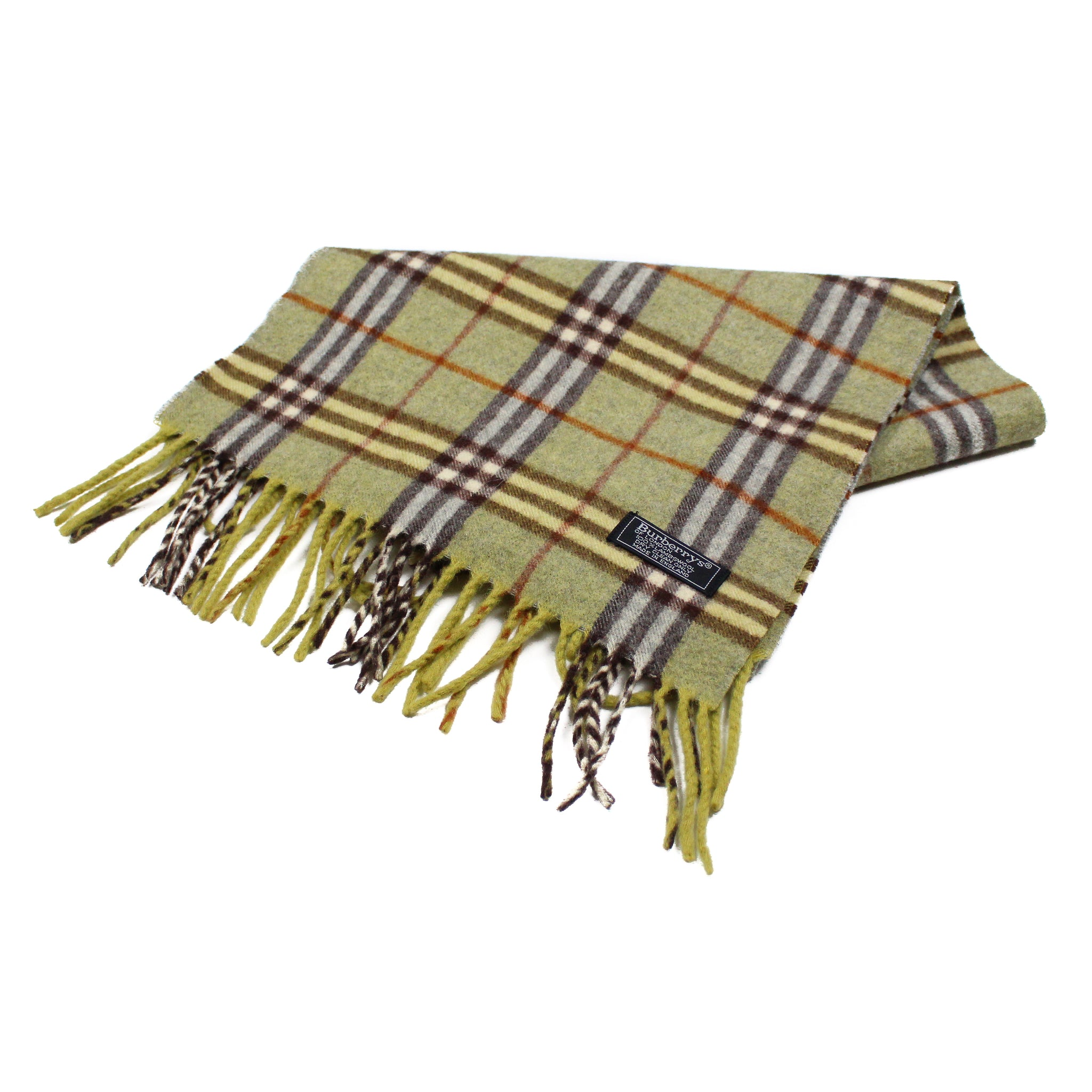 Vintage Lambswool Burberry Nova Check Scarf – The Vintage Stock 019157d3b49