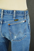 vintage 80s Wrangler Jeans - 1980s Faded Broken In Boyfriend Jeans - High Waist Straight Leg Jeans Sz 30