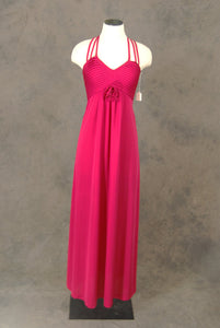vintage Maxi Dress - 70s Red Dress - 1970s Deadstock Formal Party Dress Sz XS