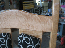 Load image into Gallery viewer, Maple and Wrought Iron dinner chair AVAILABLE BY CUSTOM ORDER