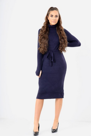 STRIK NAVY KJOLE - PerfectCatwalk.com