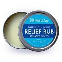 Muscle + Joint Relief Rub - 200mg CBD