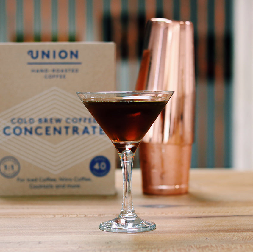 union cold brew concentrate cocktail jenever joe