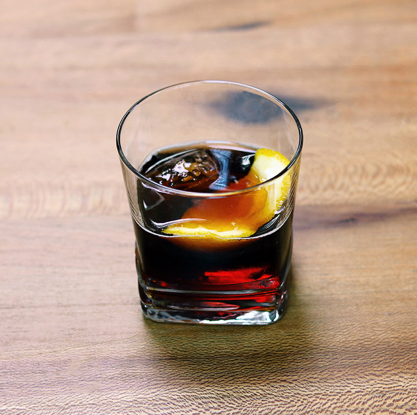 union cold brew concentrate negroni cocktail