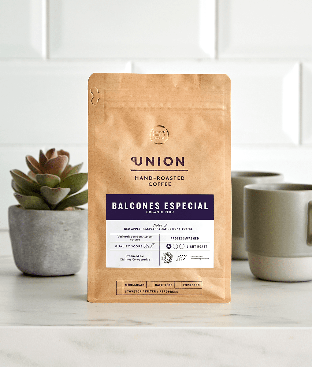 Balcones Especial, Peru, Union Coffee Bag