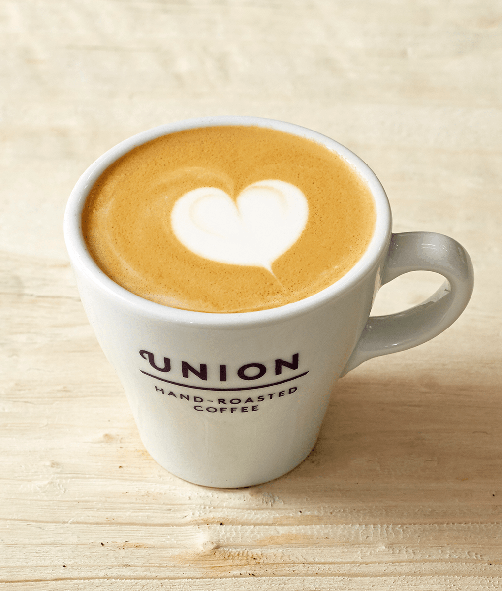 Heart Latte Art, Union Coffee