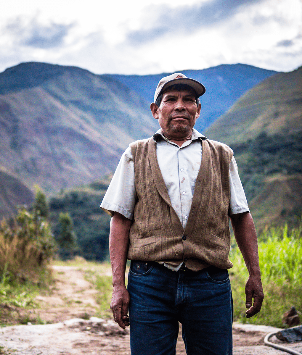 Andes Coffee Farmer, Union Coffee
