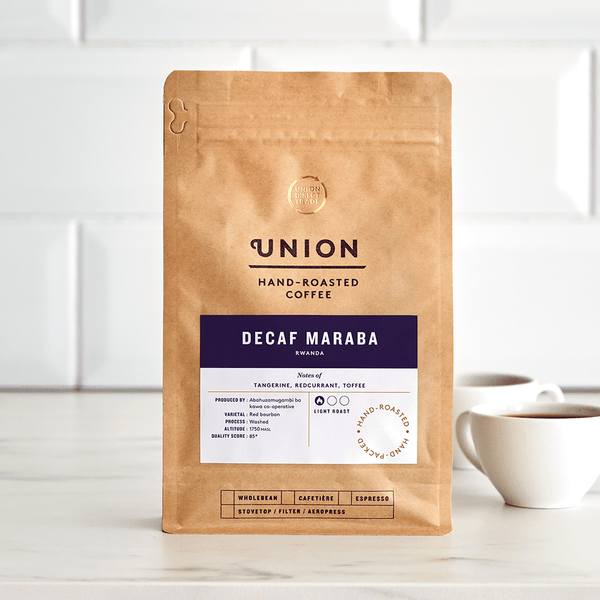 Image: Decaf Maraba, Rwanda, Union Coffee Bag