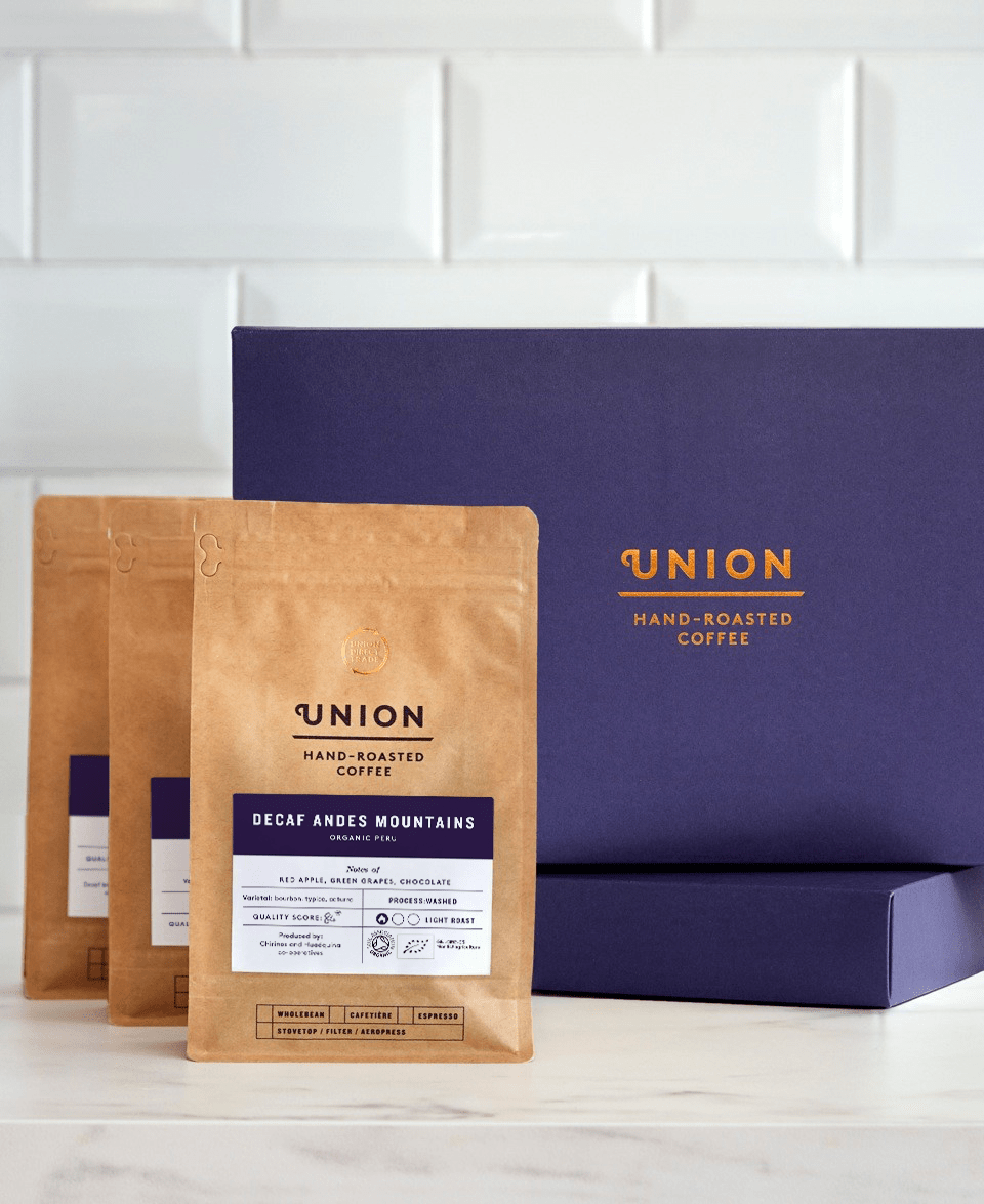Union Decaf Coffee Gift