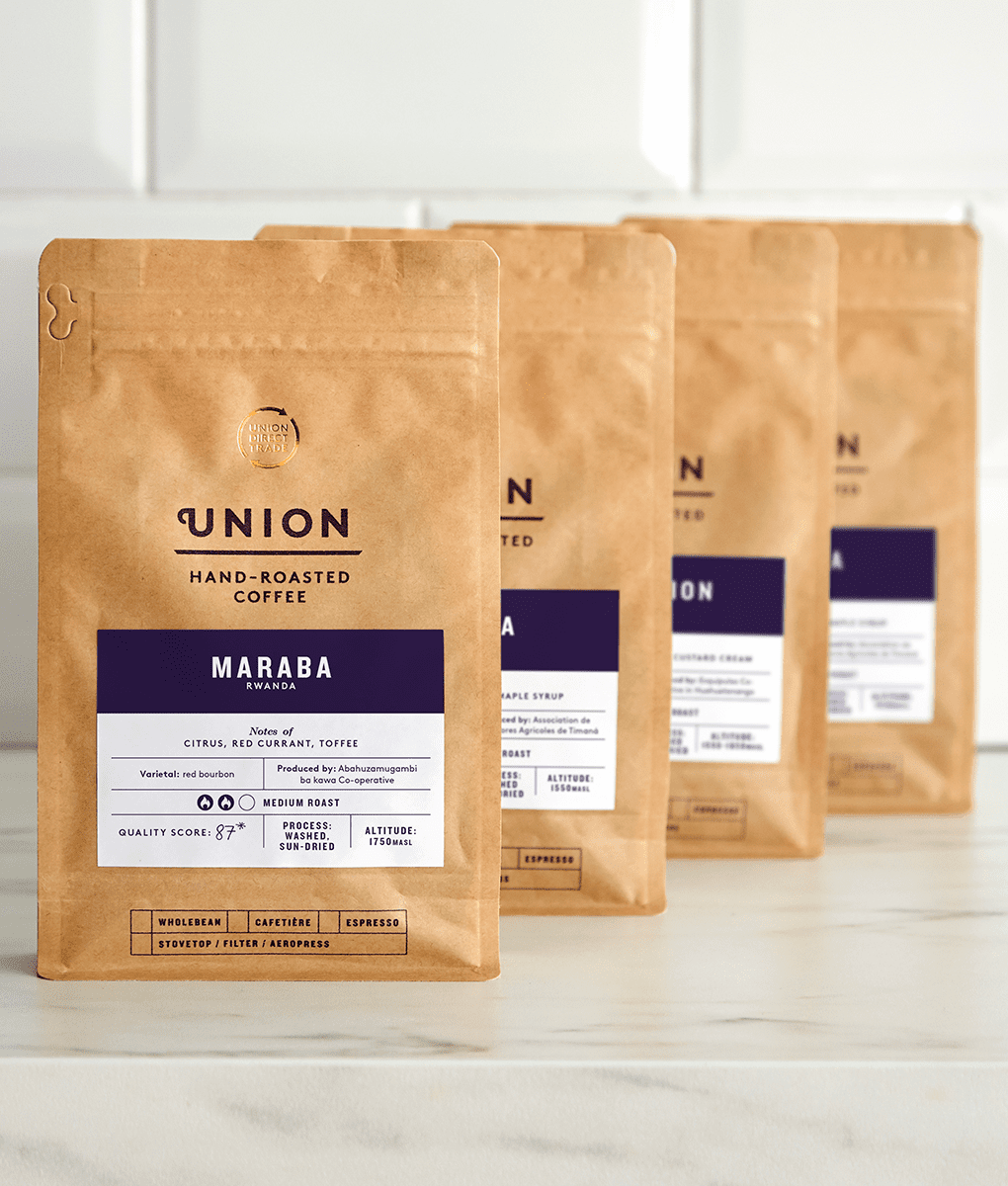 Filter Selection, Union Coffee Bags