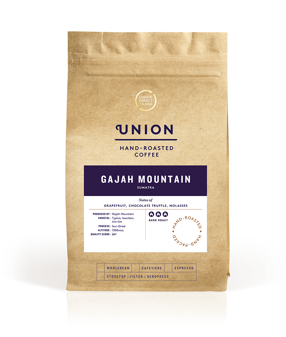 Gajah Mountain, Roast To Order Bag, Union Coffee