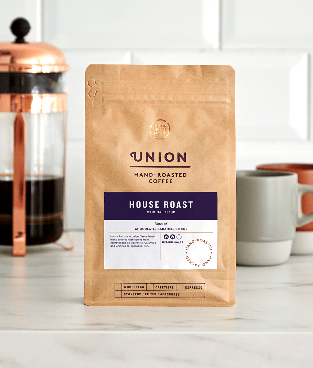 House Roast, Cafetiere Blend, Union Coffee Bag