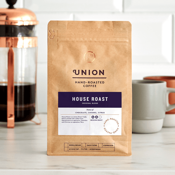 Image: House Roast, Cafetiere Blend, Union Coffee Bag