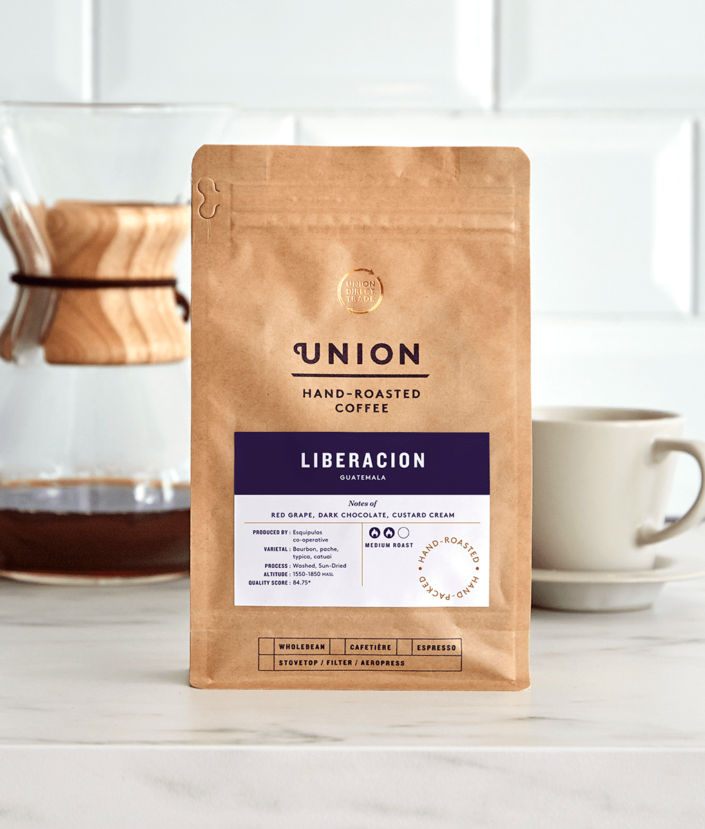 Liberacion, Guatemala, Union Coffee Bag