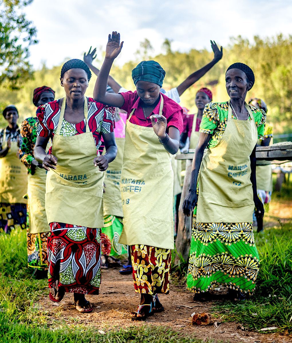 Welcome Dance, Maraba, Rwanda, Union Coffee