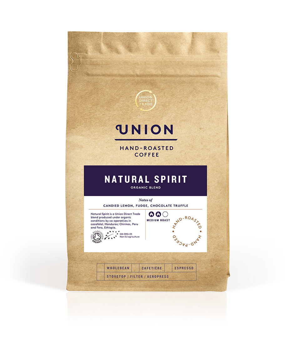 Natural Spirit Organic Blend Roast To Order Bag, Union Coffee