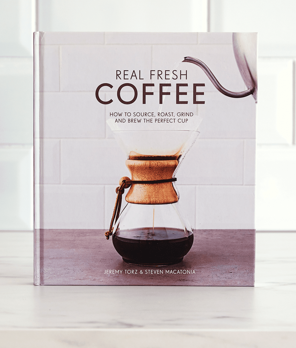 Real Fresh Coffee, Hardback Book