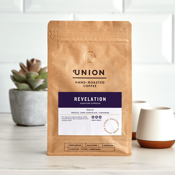 Image: Revelation Signature Espresso, Union Coffee Bag