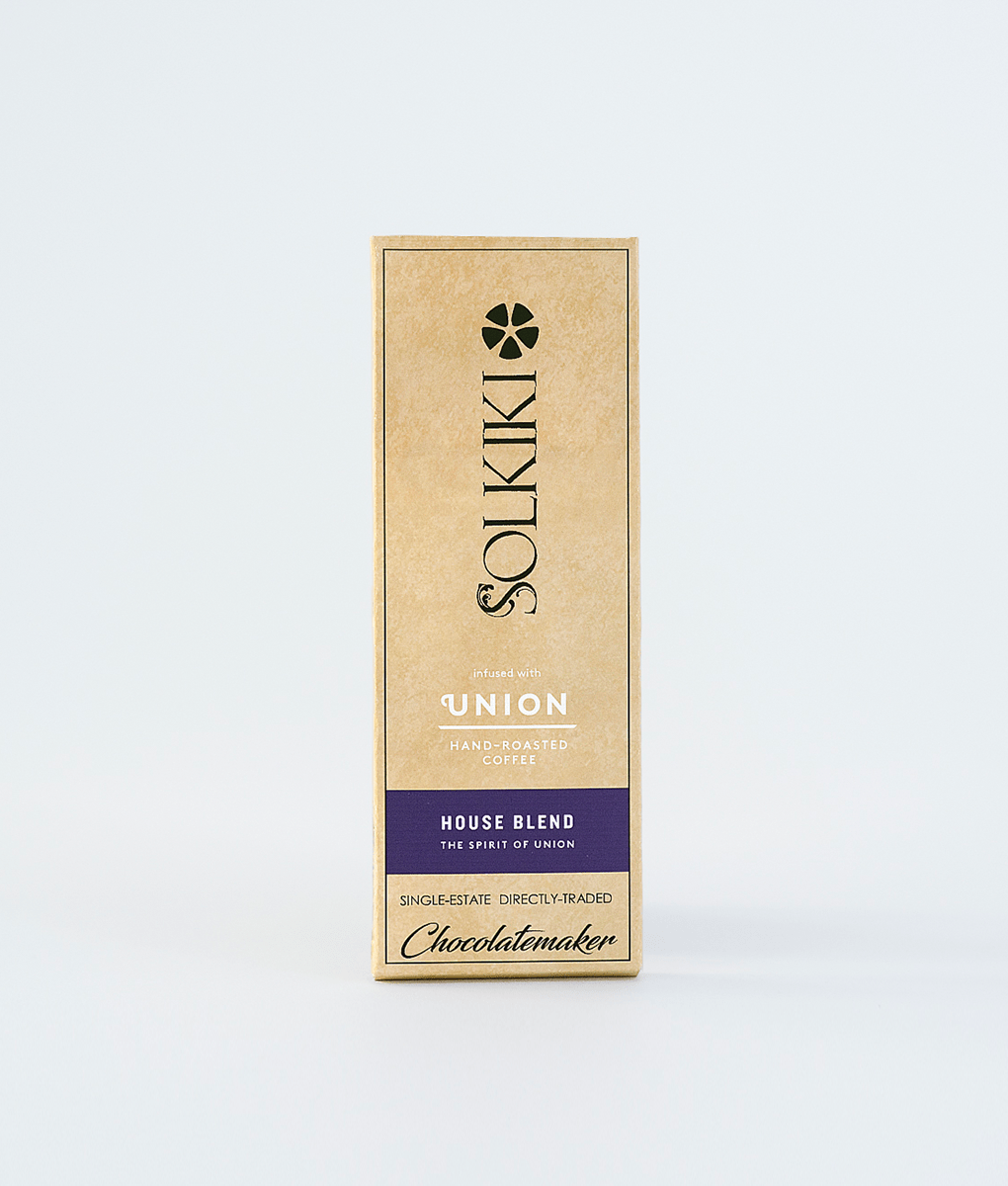 Solkiki Dark Chocolate, Blended with House Roast Coffee