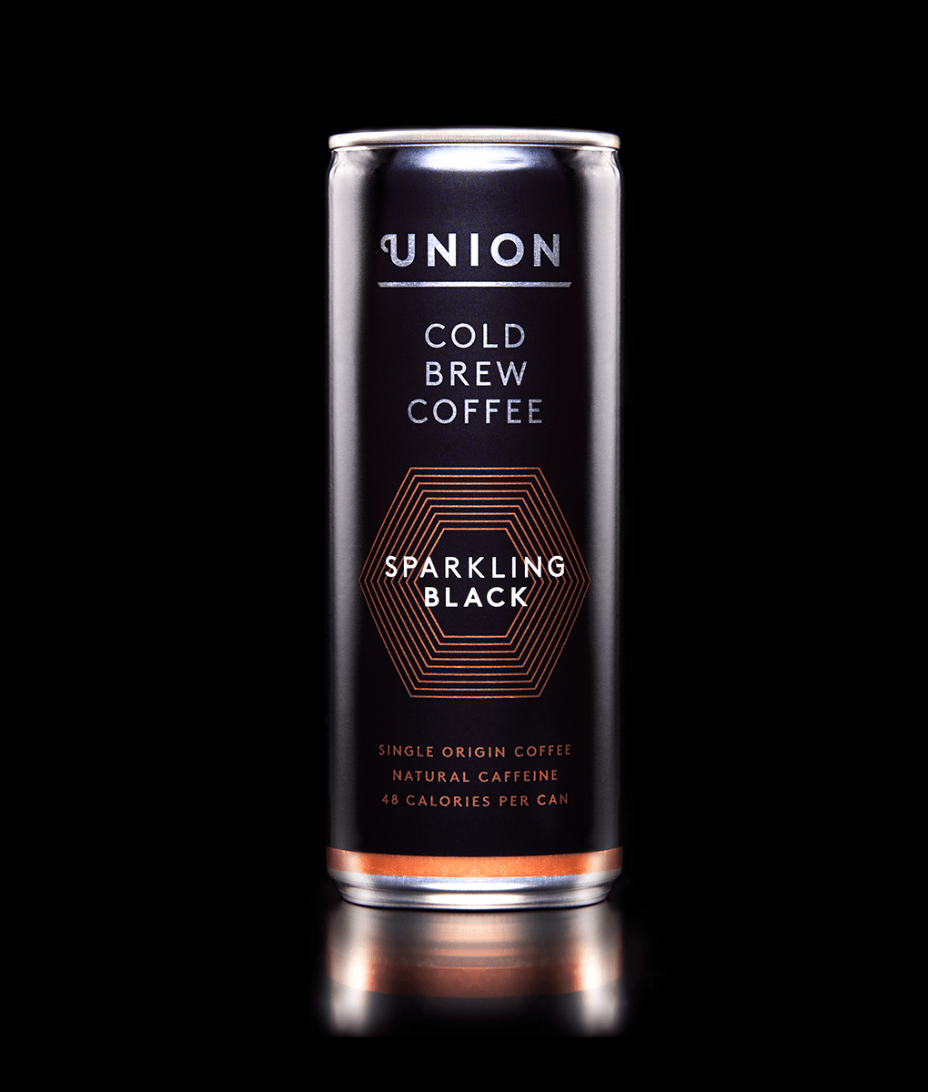 Sparkling Black Cold Brew Can, Union Coffee