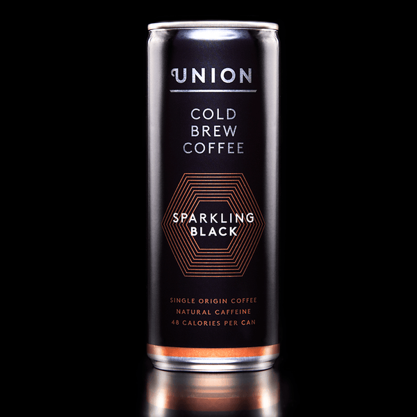Image: Sparkling Black Cold Brew Can, Union Coffee
