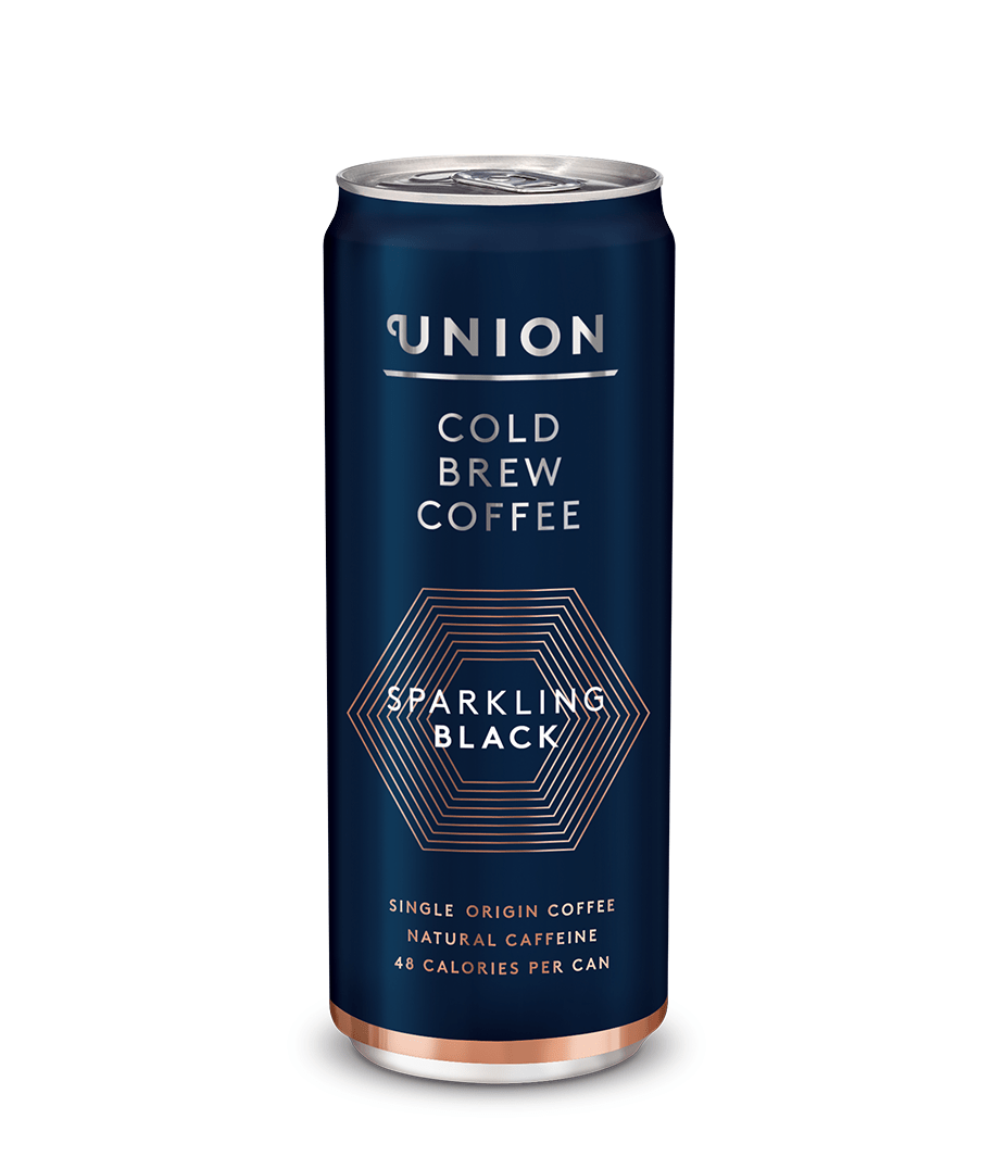 Sparkling Black Cold Brew Coffee Can