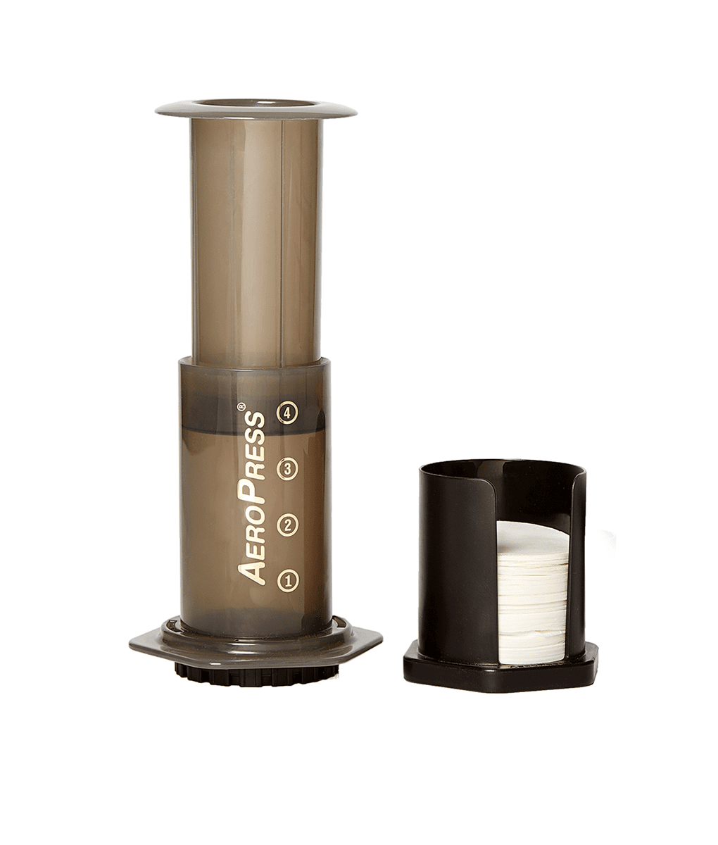 AeroPress Set, AeroPress with 2 coffees