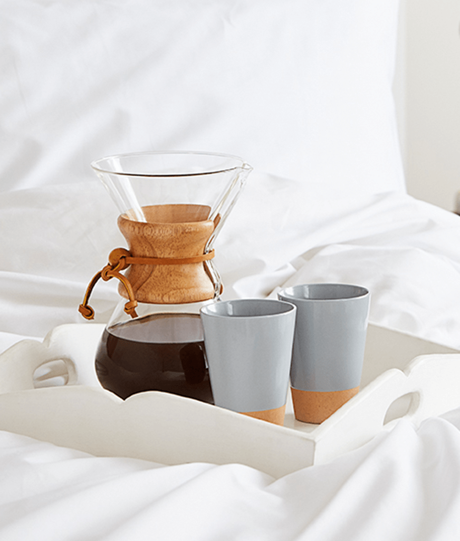 Chemex in Bed, Union Coffee