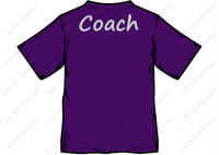 Style #6 Youth Unisex Long Sleeve T-Shirt (Purple Or Black)